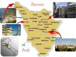 Italy Map Tuscany by General Info U2013 Iarc 2017