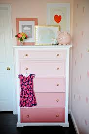 Bedroom Furniture For Girls Rooms Diy Ombre Dresser Tutorial Dresser Ombre And Room