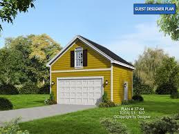 cottage garage plans garage plan 37 64 house plans by garrell associates inc