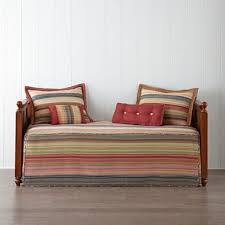 retro chic striped daybed cover u0026 accessories