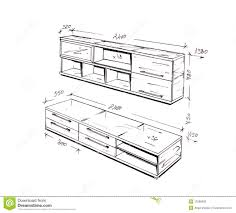 furniture design drawings theatre style seating diagram bar and