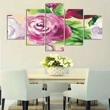 Home Flower Decoration Compare Prices On Canvas Rose Online Shopping Buy Low Price