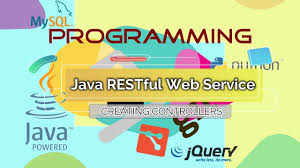 tutorial web service java programming java restful web service creating controllers from