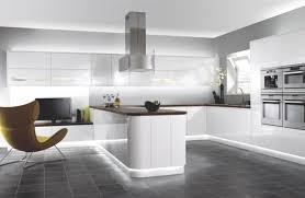 cuisine contemporaine blanche la cuisine moderne blanc élégante et intemporelle