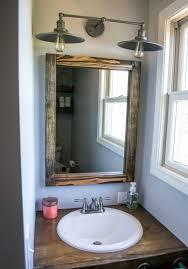 farmhouse bathroom lighting ideas 20 beautiful farmhouse bathroom lighting ideas best home template