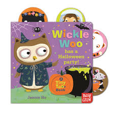 halloween party clipart tiny tabs wickle woo has a halloween party nosy crow