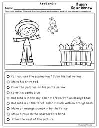 reading directions differentiated read and do november tpt