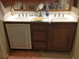 White And Wood Bathroom Ideas Diy Wooden Bathroom Vanity With Double Sink Vanities House Remodel