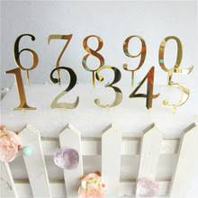 number cake topper buy cake topper and get free shipping on aliexpress
