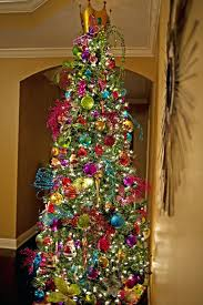 christmas trees with colored lights decorating ideas colored christmas tree lights vibehub co