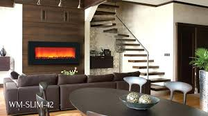 Electric Fireplace White Slim Electric Fireplaces Napoleon Real Flame Crawford Slimline