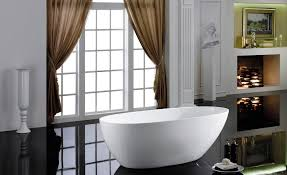 make a splash with a freestanding tub in your bathroom qns com