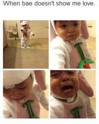 I Love You Bae Meme - funny baby memes kappit