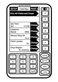 ompc20216 greenstar yield monitor system and yield mapping system