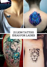 tattoos for women on shoulder 21 awesome lion tattoo ideas for women styleoholic