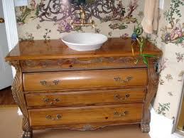 How To Make Furniture Look Rustic by Using Vintage Furniture In The Bathroom Diy