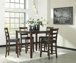 Ashley Furniture Dining Room Sets Discontinued by Ashley Coviar D385 223 Counter Height Dining Table Barstools