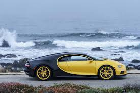 first bugatti ever made first bugatti chiron delivered to u s owner has black u0026yellow