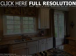 Window Tre Bay Window Kitchen Curtains And Window Treatment Valance Ideas