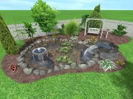 Free Backyard Landscaping Ideas Download Back Yard Designs Garden Design