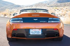First Drive 2015 Aston Martin V12 Vantage S Roadster Digital Trends