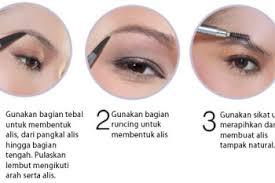 tutorial alis mata untuk wajah bulat cara membentuk alis sesuai bentuk wajah