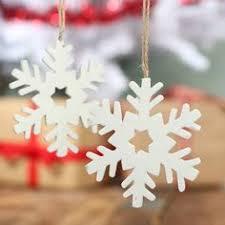 white iridescent glitter metal snowflake ornament snowflakes