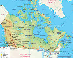 map of canada atlas canada country map