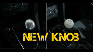how to change a shift knob 2016 ford focus st youtube