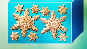snowflake cookies glazed spiced snowflake cookies