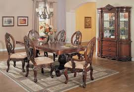 formal cherry dining room table set shop home furniture gable