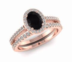 black diamond wedding sets black diamond ring sets armantedesign