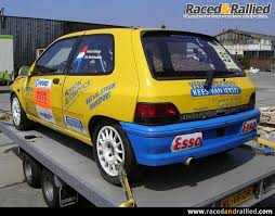 renault race cars renault cup clio 1 race cars for sale at raced u0026 rallied rally