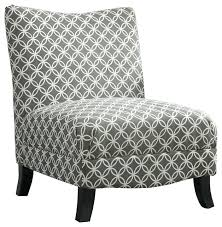 White Accent Chair Black And White Accent Chairs Transitional Armchairs Traditional