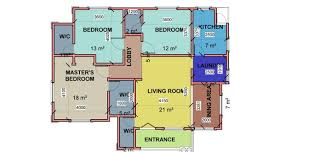 build plan how to build a low budget bungalow 3 bedroom flat as case study