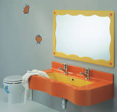kids bathroom decorating ideas bathroom kids bathroom decorating idea with cheerful wall