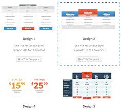 pricing table template word 28 images css price table