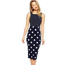 popular polka blue dress buy cheap polka blue dress lots from