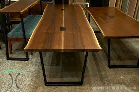 live edge table chicago live edge and slab dining and conference tables and tops