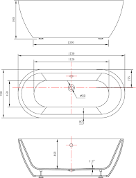 Dimensioni Vasca Da Bagno Angolare by Vasca Da Bagno Freestanding Jazz Bianco 173 X 78 Cm