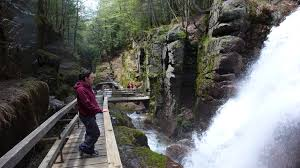 New Hampshire waterfalls images White mountains region of new hampshire jpg