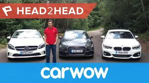 audi a3 vs bmw 3 series audi a3 vs bmw 1 series vs mercedes a class 2017 head2head