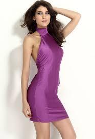0 99 wholesale fuchsia pink halter bodycon dress