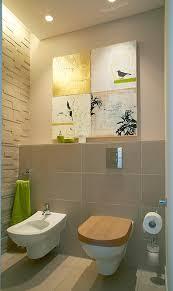 wandgestaltung gäste wc trendfarbe sand schöner wohnen farbe