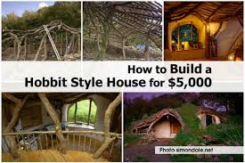 how build hobbit style house for