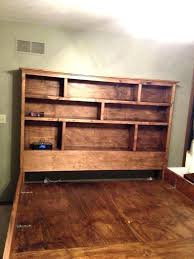 Bookcase Headboard King Bookcase Headboards For King Size Beds King Size Bookcase Bed