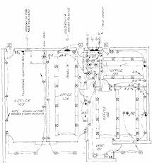 electrical floor plan drawing drawing for architectural plans