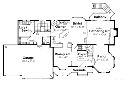 Foyer Plans House Plan 24800 At Familyhomeplans Com
