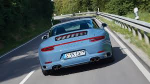 porsche night blue new porsche 911 targa 4s exclusive design edition