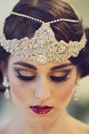 how to do great gatsby hairstyles for women glitter makeup gold pinteres